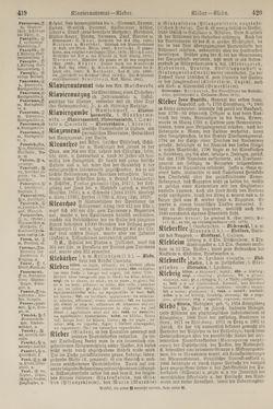 Bild der Seite - 420 - in Pierers Konversations-Lexikon - Kalkeinlagerungen-Lübbesee, Band 8