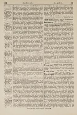 Bild der Seite - 492 - in Pierers Konversations-Lexikon - Kalkeinlagerungen-Lübbesee, Band 8