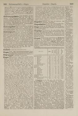 Image of the Page - 1414 - in Pierers Konversations-Lexikon - Kalkeinlagerungen-Lübbesee, Volume 8