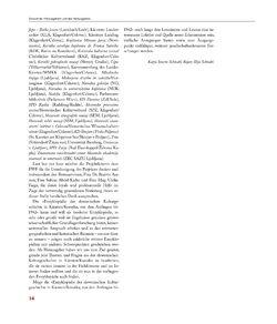 Bild der Seite - 14 - in Enzyklopädie der slowenischen Kulturgeschichte in Kärnten/Koroška - Von den Anfängen bis 1942, Band 1: A – I