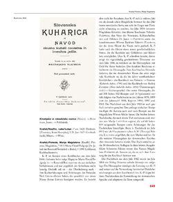 Bild der Seite - 649 - in Enzyklopädie der slowenischen Kulturgeschichte in Kärnten/Koroška - Von den Anfängen bis 1942, Band 2 : J – Pl