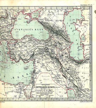 Image of the Page - 34 - in Kozenn Schulatlas