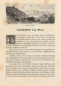 Image of the Page - 3 - in Die österreichisch-ungarische Monarchie in Wort und Bild - Wien und Niederösterreich, 1. Abteilung: Wien, Volume 1