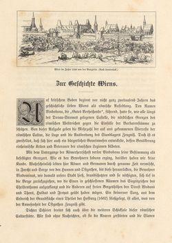 Image of the Page - 5 - in Die österreichisch-ungarische Monarchie in Wort und Bild - Wien und Niederösterreich, 1. Abteilung: Wien, Volume 1