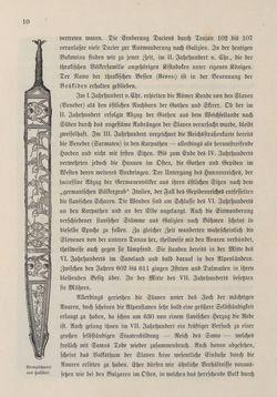 Bild der Seite - 10 - in Die österreichisch-ungarische Monarchie in Wort und Bild - Übersichtsband, 1. Abteilung: Geschichtlicher Teil, Band 3