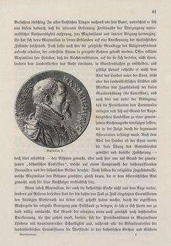 Bild der Seite - 81 - in Die österreichisch-ungarische Monarchie in Wort und Bild - Übersichtsband, 1. Abteilung: Geschichtlicher Teil, Band 3