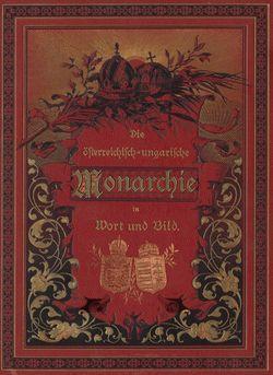 Bild der Seite - Titelblatt vorne - in Die österreichisch-ungarische Monarchie in Wort und Bild - Übersichtsband, Ungarn (1), Band 5
