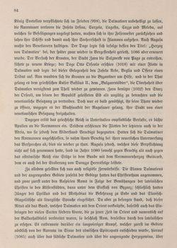 Bild der Seite - 84 - in Die österreichisch-ungarische Monarchie in Wort und Bild - Dalmatien, Band 11