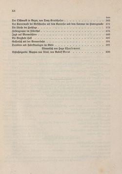Bild der Seite - XII - in Die österreichisch-ungarische Monarchie in Wort und Bild - Tirol und Vorarlberg, Band 13