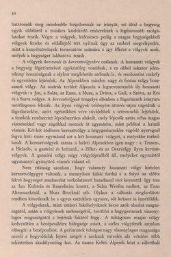 Bild der Seite - 40 - in Az Osztrák-Magyar Monarchia írásban és képben - Bevezetö Kötet (I), Band 2