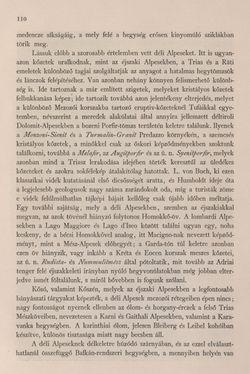 Bild der Seite - 110 - in Az Osztrák-Magyar Monarchia írásban és képben - Bevezetö Kötet (I), Band 2