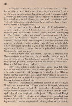 Bild der Seite - 370 - in Az Osztrák-Magyar Monarchia írásban és képben - Bevezetö Kötet (II), Band 3