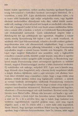 Bild der Seite - 460 - in Az Osztrák-Magyar Monarchia írásban és képben - Bevezetö Kötet (II), Band 3