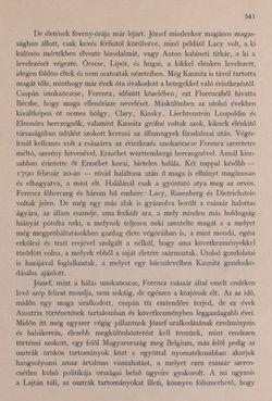Bild der Seite - 541 - in Az Osztrák-Magyar Monarchia írásban és képben - Bevezetö Kötet (II), Band 3