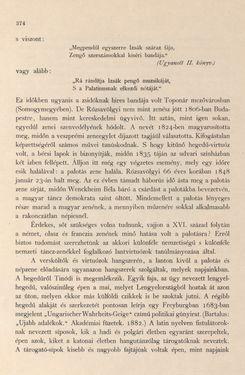 Image of the Page - 374 - in Az Osztrák-Magyar Monarchia írásban és képben - Magyarország I (2), Volume 5/2