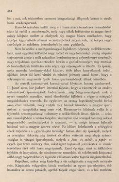Bild der Seite - 494 - in Az Osztrák-Magyar Monarchia írásban és képben - Magyarország I (2), Band 5/2