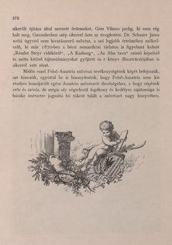 Bild der Seite - 272 - in Az Osztrák-Magyar Monarchia írásban és képben - Felsö-Ausztria ès Salzburg (Felsö-Ausztria), Band 6/1