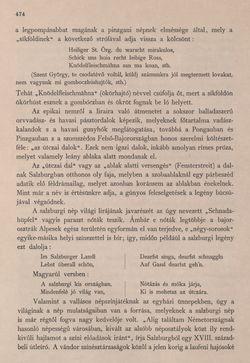 Bild der Seite - 474 - in Az Osztrák-Magyar Monarchia írásban és képben - Felsö-Ausztria ès Salzburg (Salzburg), Band 6/2