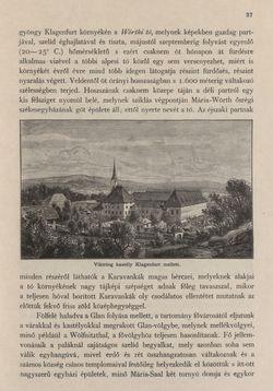 Bild der Seite - 37 - in Az Osztrák-Magyar Monarchia írásban és képben - Karinthia és Krajna (Karinthia), Band 8/1