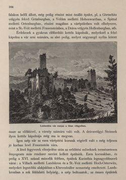 Image of the Page - 164 - in Az Osztrák-Magyar Monarchia írásban és képben - Karinthia és Krajna (Karinthia), Volume 8/1