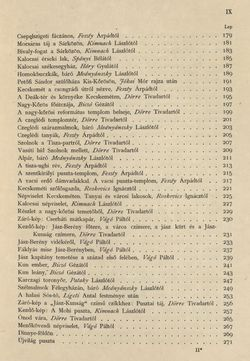 Bild der Seite - IX - in Az Osztrák-Magyar Monarchia írásban és képben - Magyarország II (1), Band 9/1