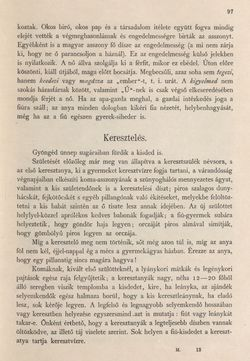 Bild der Seite - 97 - in Az Osztrák-Magyar Monarchia írásban és képben - Magyarország II (1), Band 9/1