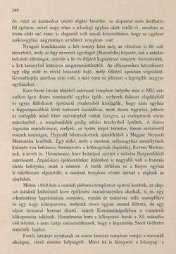 Bild der Seite - 160 - in Az Osztrák-Magyar Monarchia írásban és képben - Magyarország II (1), Band 9/1