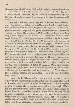 Bild der Seite - 208 - in Az Osztrák-Magyar Monarchia írásban és képben - Magyarország II (1), Band 9/1