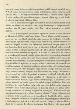 Bild der Seite - 454 - in Az Osztrák-Magyar Monarchia írásban és képben - Magyarország II (2), Band 9/2