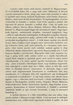 Bild der Seite - 621 - in Az Osztrák-Magyar Monarchia írásban és képben - Magyarország II (2), Band 9/2