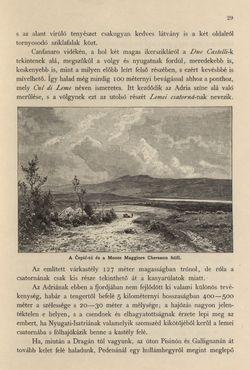 Bild der Seite - 29 - in Az Osztrák-Magyar Monarchia írásban és képben - Az Osztrák Tengermellék és Dalmáczia (Tengermellék), Band 10