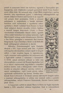 Bild der Seite - 281 - in Az Osztrák-Magyar Monarchia írásban és képben - Az Osztrák Tengermellék és Dalmáczia (Tengermellék), Band 10