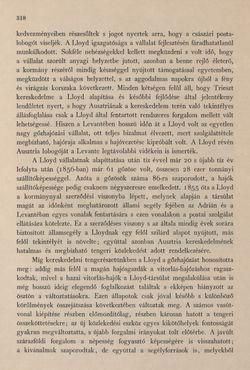 Image of the Page - 318 - in Az Osztrák-Magyar Monarchia írásban és képben - Az Osztrák Tengermellék és Dalmáczia (Tengermellék), Volume 10