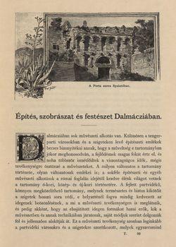 Bild der Seite - 633 - in Az Osztrák-Magyar Monarchia írásban és képben,  - Az Osztrák Tengermellék és Dalmáczia (Dalmáczia), Band 11