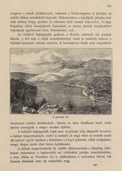 Image of the Page - 715 - in Az Osztrák-Magyar Monarchia írásban és képben,  - Az Osztrák Tengermellék és Dalmáczia (Dalmáczia), Volume 11
