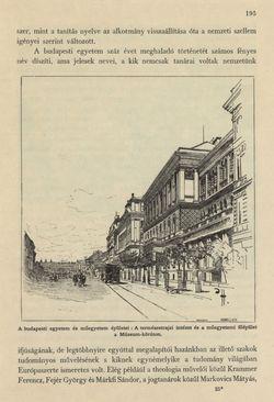 Bild der Seite - 195 - in Az Osztrák-Magyar Monarchia írásban és képben - Magyarország III (1), Band 12/1