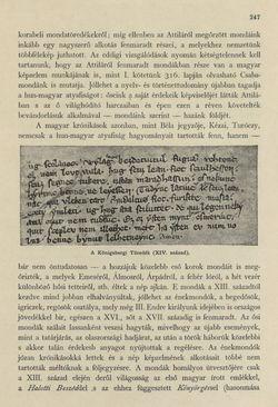 Bild der Seite - 247 - in Az Osztrák-Magyar Monarchia írásban és képben - Magyarország III (1), Band 12/1
