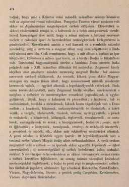 Bild der Seite - 474 - in Az Osztrák-Magyar Monarchia írásban és képben - Magyarország III (2), Band 12/2