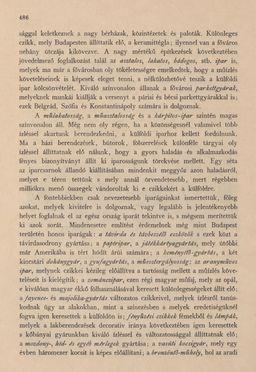 Bild der Seite - 486 - in Az Osztrák-Magyar Monarchia írásban és képben - Magyarország III (2), Band 12/2