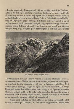Bild der Seite - 47 - in Az Osztrák-Magyar Monarchia írásban és képben - Tirol és Vorarlberg (1), Band 13/1