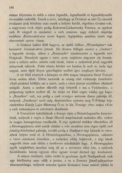 Image of the Page - 192 - in Az Osztrák-Magyar Monarchia írásban és képben - Csehország I (1), Volume 14/1