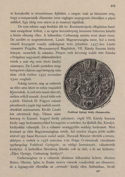 Image of the Page - 275 - in Az Osztrák-Magyar Monarchia írásban és képben - Csehország I (1), Volume 14/1