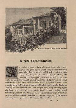 Bild der Seite - 1 - in Az Osztrák-Magyar Monarchia írásban és képben - Csehország II (1), Band 15/1
