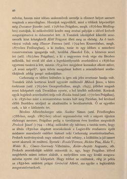 Bild der Seite - 40 - in Az Osztrák-Magyar Monarchia írásban és képben - Csehország II (1), Band 15/1