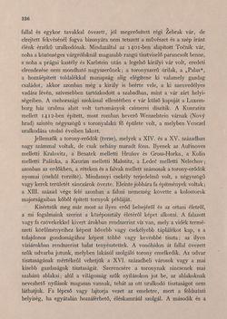 Bild der Seite - 336 - in Az Osztrák-Magyar Monarchia írásban és képben - Csehország II (1), Band 15/1