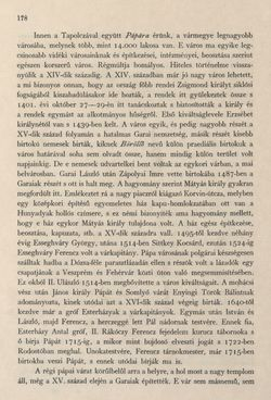 Bild der Seite - 178 - in Az Osztrák-Magyar Monarchia írásban és képben - Magyarország IV (1), Band 16/1