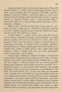 Image of the Page - 221 - in Az Osztrák-Magyar Monarchia írásban és képben - Magyarország IV (1), Volume 16/1