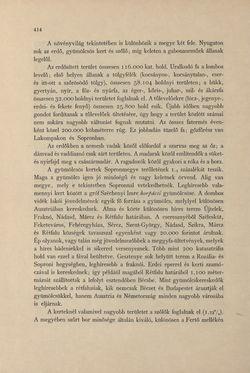 Bild der Seite - 414 - in Az Osztrák-Magyar Monarchia írásban és képben - Magyarország IV (2), Band 16/2