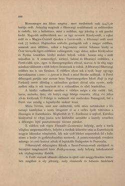 Bild der Seite - 460 - in Az Osztrák-Magyar Monarchia írásban és képben - Magyarország IV (2), Band 16/2