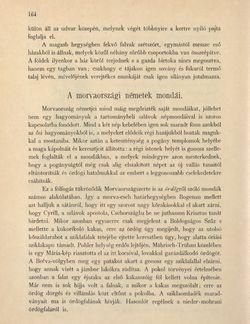 Bild der Seite - 164 - in Az Osztrák-Magyar Monarchia írásban és képben - Morvaország és Szilézia (Morvaország), Band 17/1